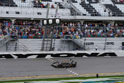 #5 Action Express Racing Cadillac DPi, P: Joao Barbosa, Christian Fittipaldi, Filipe Albuquerque Crosses the Finish Line in First Place Overall