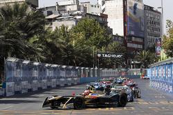 Jean-Eric Vergne, Techeetahleads Nelson Piquet Jr., Jaguar Racing, Andre Lotterer, Techeetah