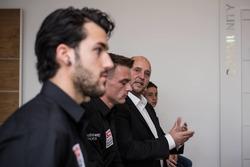 Jesko Raffin, Sam Lowes e Fred Corminbouef