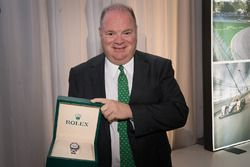 Chip Ganassi avec sa Rolex de Grand Marshal