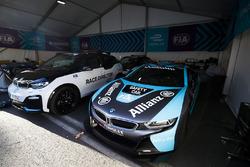 Coche de seguridad BMW i8, Coche de director BWW i3 Race