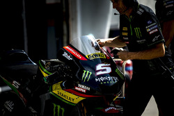 Мотоцикл гонщика Monster Yamaha Tech 3 Жоана Зарко