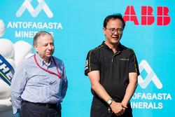 Jean Todt, FIA Başkanı ve TECHEETAH takım elemanı