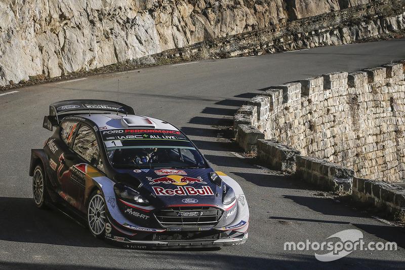 Rally de Montecarlo: Sébastien Ogier y Julien Ingrassia, Ford Fiesta WRC, M-Sport Ford