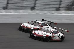 #911 Porsche Team North America Porsche 911 RSR: Патрік Пілет, Нік Тенді, Фредерік Маковєцкі, #912 P