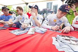 Andreas Mikkelsen, Thierry Neuville, Dani Sordo, Hyundai Motorsport