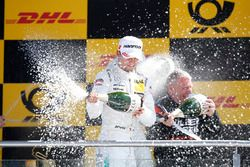 Podium: Pascal Wehrlein, Mercedes-AMG Team HWA