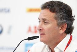 Alejandro Agag, CEO, Formula E, nella conferenza stampa