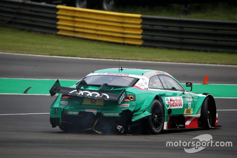Nico Müller, Audi Sport Team Abt Sportsline, Audi RS 5 DTM, dopo l'incidente