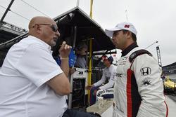 Бобби Рейхол, Rahal Letterman Lanigan Racing Honda, и Ориоль Сервия, Scuderia Corsa with RLL Honda