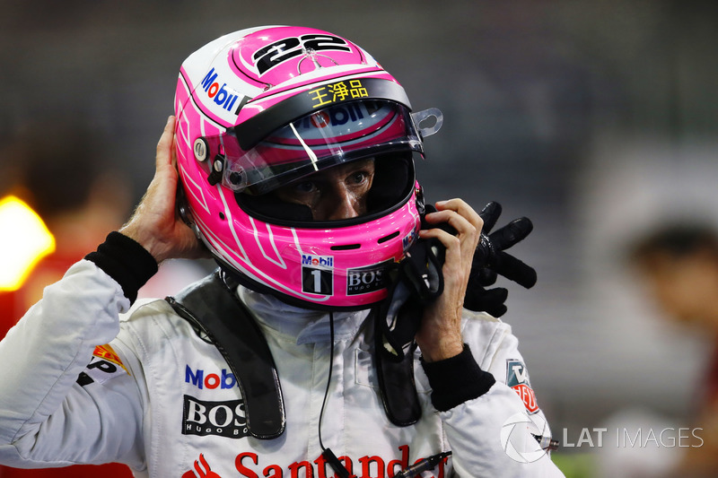 2014. Jenson Button, McLaren