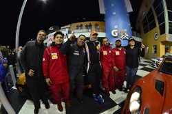 #33 MP4A Honda Civic: Felipe Jaramillo, Rodrigo Ospina, Matt Flick of Team Colombia