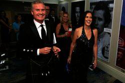 David Coulthard et Lee McKenzie