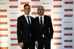 David Brabham and son Matthew