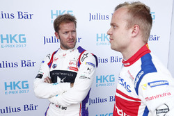 Sam Bird, DS Virgin Racing, polesitter Felix Rosenqvist, Mahindra Racing