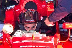 Marc Marquez testa una monoposto di F3