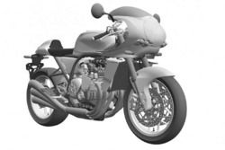 Honda CBX design draft