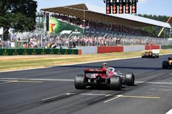 Charles Leclerc, Sauber C37 practica un inicio de parrilla