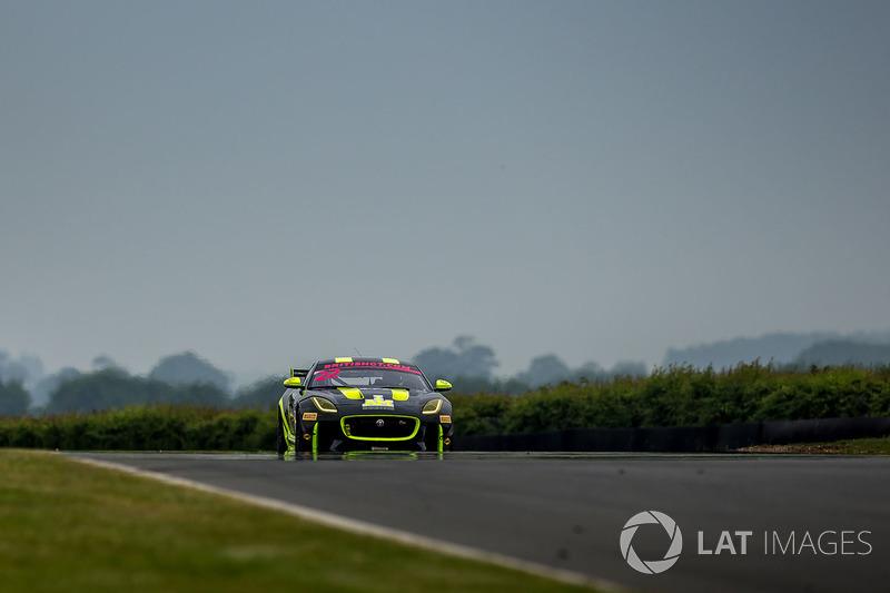#22 Invictus Games Racing - Jaguar F-Type SVR GT4 - Ben Norfolk, Jason Wolfe