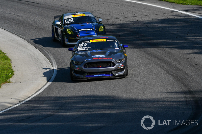 55 Pf Racing Ford Mustang Gt4 Jade Buford Scott Maxwell At Lime Rock