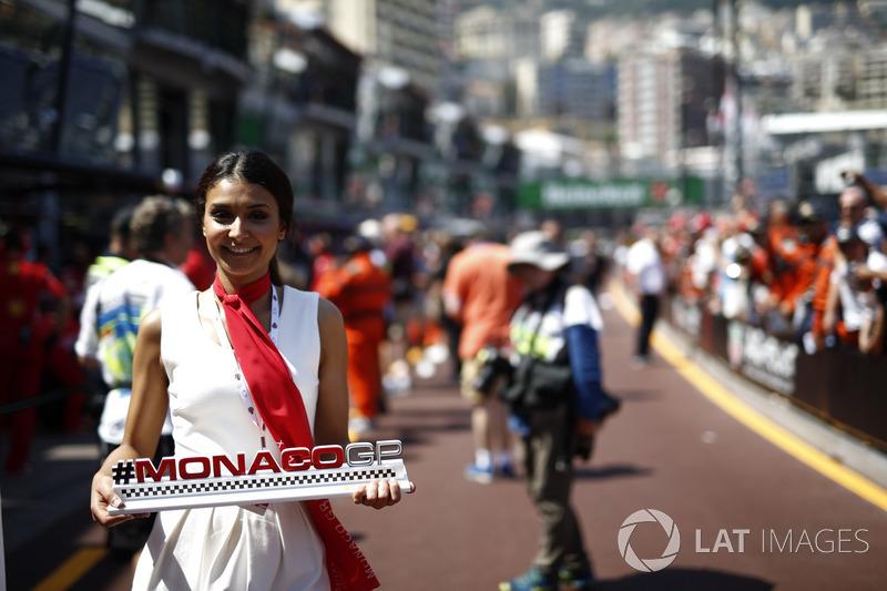 Modella del Monaco GP
