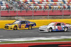 Austin Cindric, Team Penske, Ford Mustang Pirtek and Vinnie Miller, JD Motorsports, Chevrolet Camaro JAS Expedited Trucking, LLC/