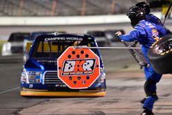 Chase Briscoe, Brad Keselowski Racing Ford, makes a pit stop
