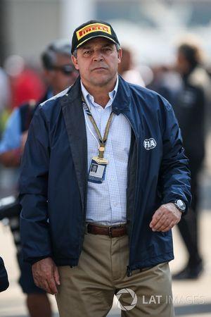 Ricardo Morales Rubio, presidente del Club de automovilismo de Colombia