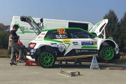 La Skoda Fabia R5 di Ivan Tenca e Moira, MetiorSport.it