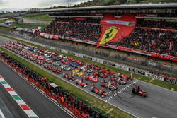 Ferrari group photo