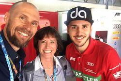 Monika Schreiner, LGT Group, mit Daniel Abt, Audi Sport ABT Schaeffler