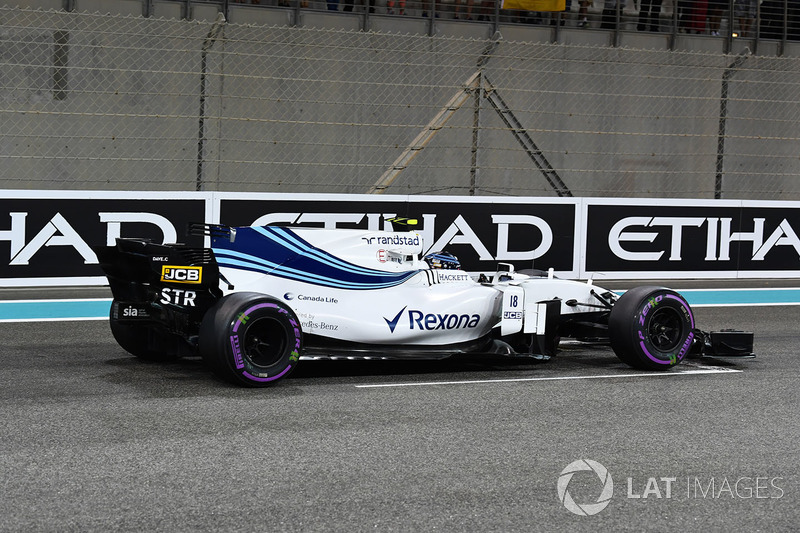 15. Lance Stroll, Williams FW40