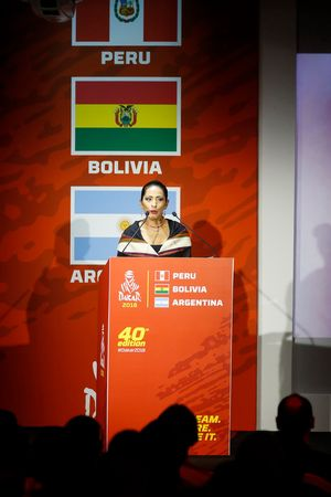 Wilma Alanoca Mamani, Bolivia Cultures and Tourism minister