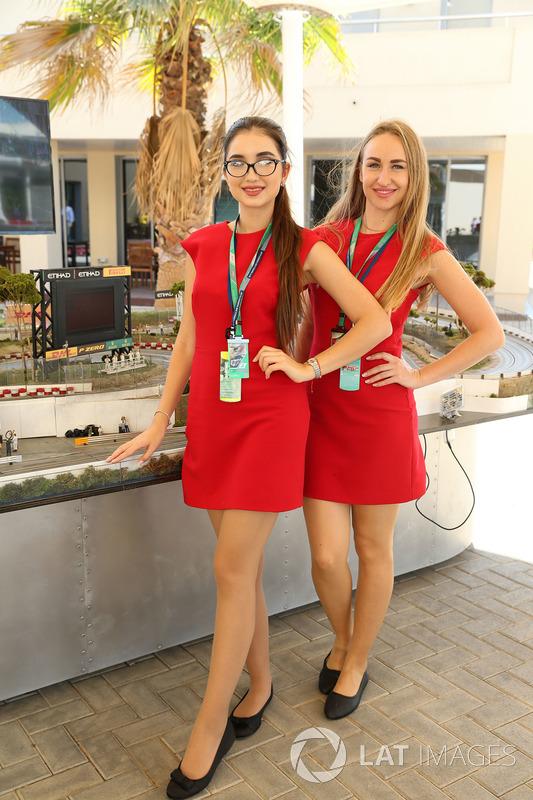 Girls and slot car racing