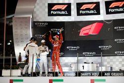 Podium: Race winner Valtteri Bottas, Mercedes AMG F1, second place place Lewis Hamilton, Mercedes AM