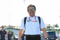 Генеральный директор Honda Motorsports Масаси Ямамото