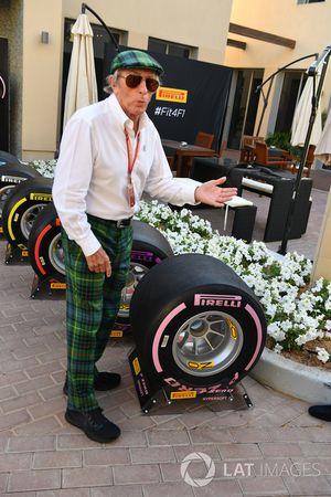 Джеки Стюарт и шины Pirelli 2018 года