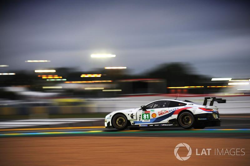 43: #81 BMW Team MTEK BMW M8 GTE: Martin Tomczyk, Nicky Catsburg, Phillip Eng, 3'50.596