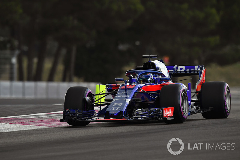 20: Brendon Hartley, Scuderia Toro Rosso STR13, 1'33.025 (inc 35-place grid penalty)