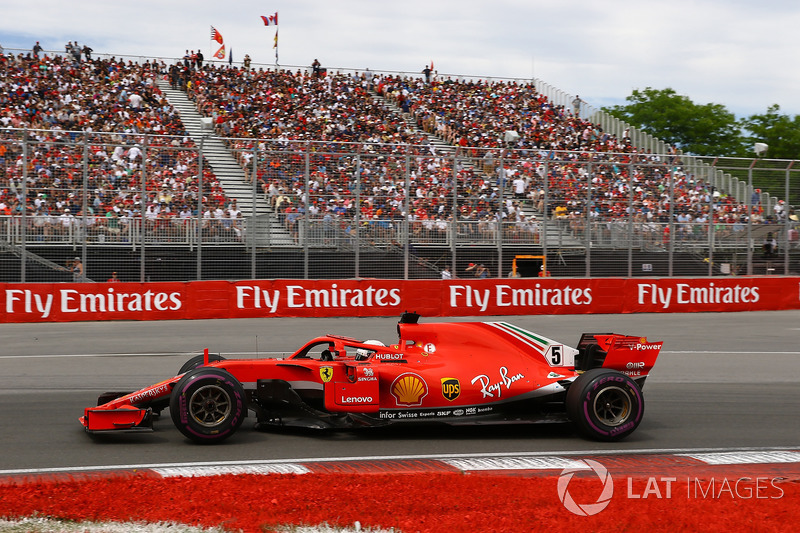 Vettel complains about traffic in Q2