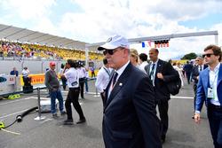 HSH Prince Albert of Monaco, on the grid