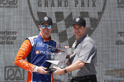 Podio: Scott Dixon, Chip Ganassi Racing Honda