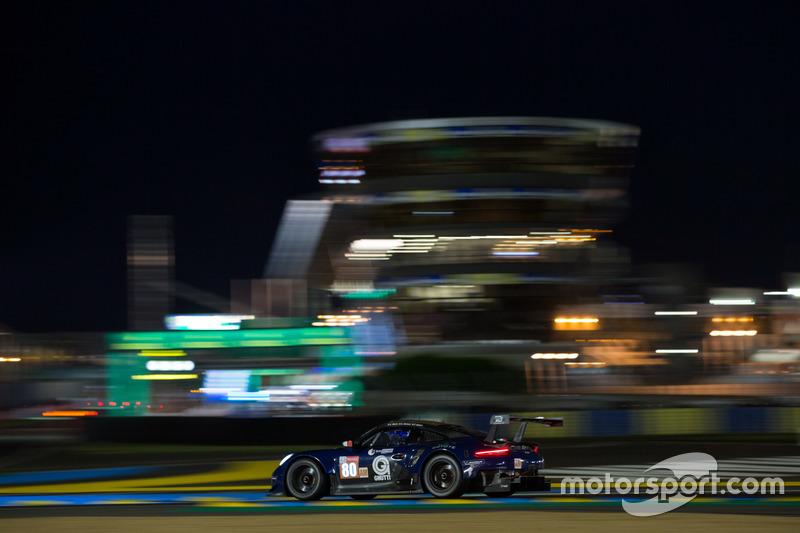 53. Фабио Бабини, Кристина Нильсен, Эрик Мэрис, Ebimotors, Porsche 911 RSR (№80)