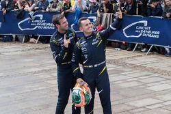 #90 TF Sport Aston Martin Vantage: Euan Alers-Hankey, Charles Eastwood