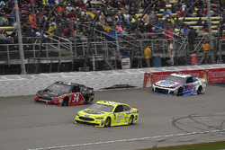 Paul Menard, Wood Brothers Racing, Ford Fusion Menards / Jack Links, \c34, and A.J. Allmendinger, JT