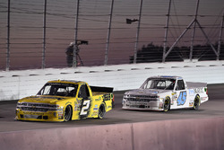 Cody Coughlin, GMS Racing, Chevrolet Silverado Jeg's.com and Justin Fontaine, Niece Motorsports, Chevrolet Silverado ProMATIC Automation/Superior Essex