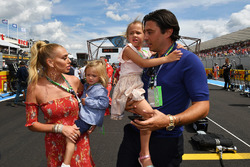 Petra Ecclestone, and boyfriend Sam Palmer on the grid