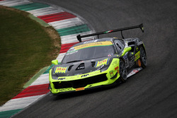 #381 Ineco - MP Racing Ferrari 488: Erich Prinoth