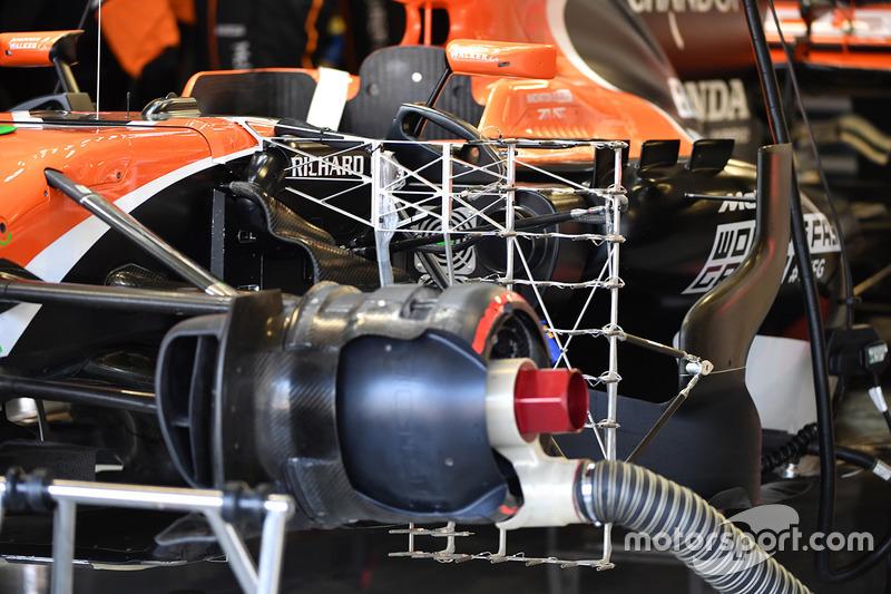 McLaren MCL32 fren tamburu