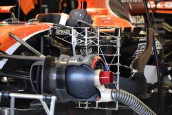 McLaren MCL32 : écrou de roue
